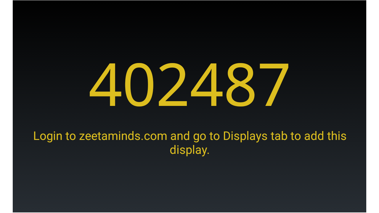 Zeetaminds - Install Signage App on LG Signage Display